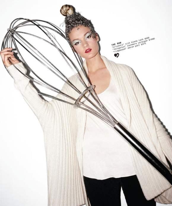 Kirsi Pyrhonen for Barneys Holiday 2010 Catalogue 8