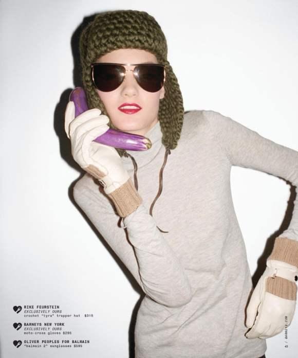 Kirsi Pyrhonen for Barneys Holiday 2010 Catalogue 9