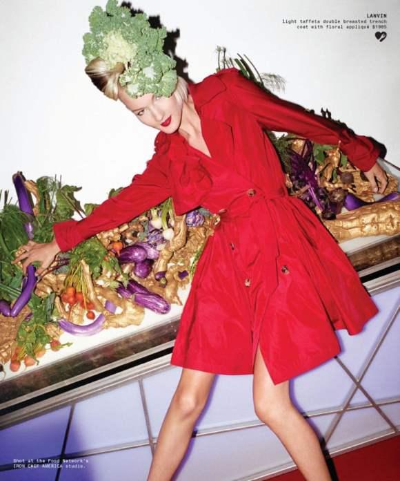Kirsi Pyrhonen for Barneys Holiday 2010 Catalogue