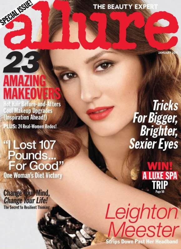 Leighton Meester for Allure January 2011 2