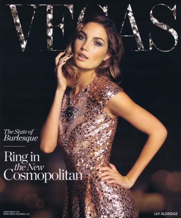 Lily Aldridge VEGAS Magazine December 2010 2