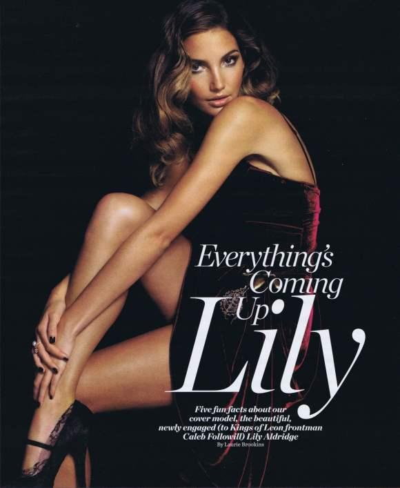 Lily Aldridge VEGAS Magazine December 2010