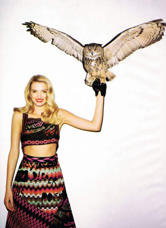 Lily Donaldson for Harpers Bazaar US January 2011 11