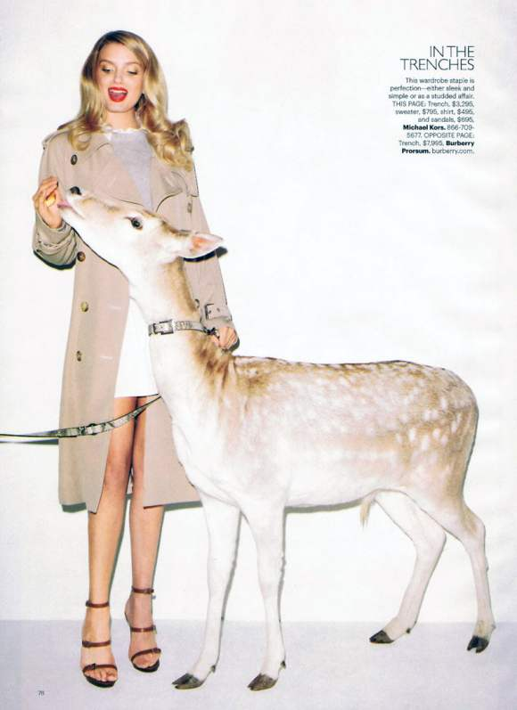 Lily Donaldson for Harpers Bazaar US January 2011 13