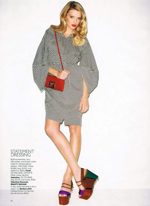 Lily Donaldson for Harpers Bazaar US January 2011 15
