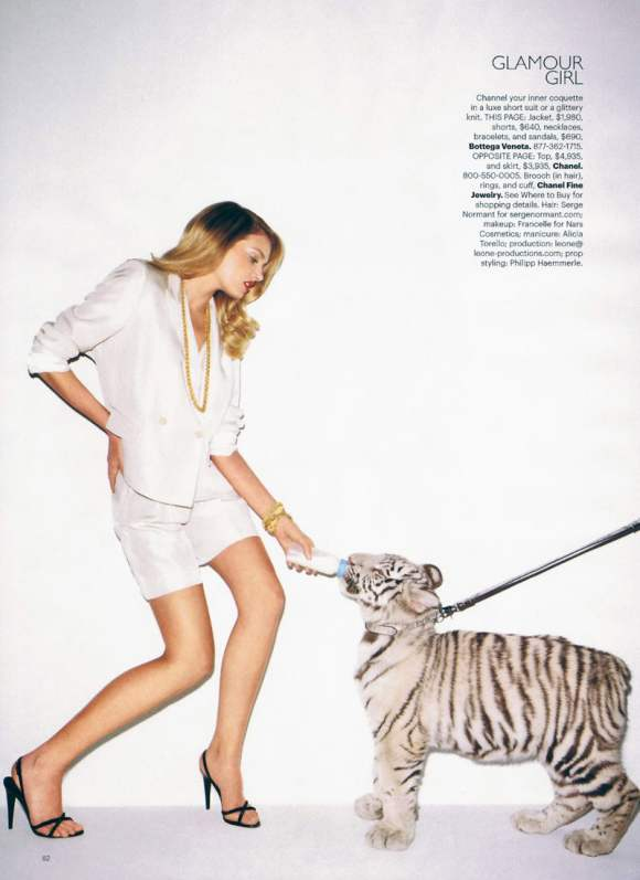 Lily Donaldson for Harpers Bazaar US January 2011 17