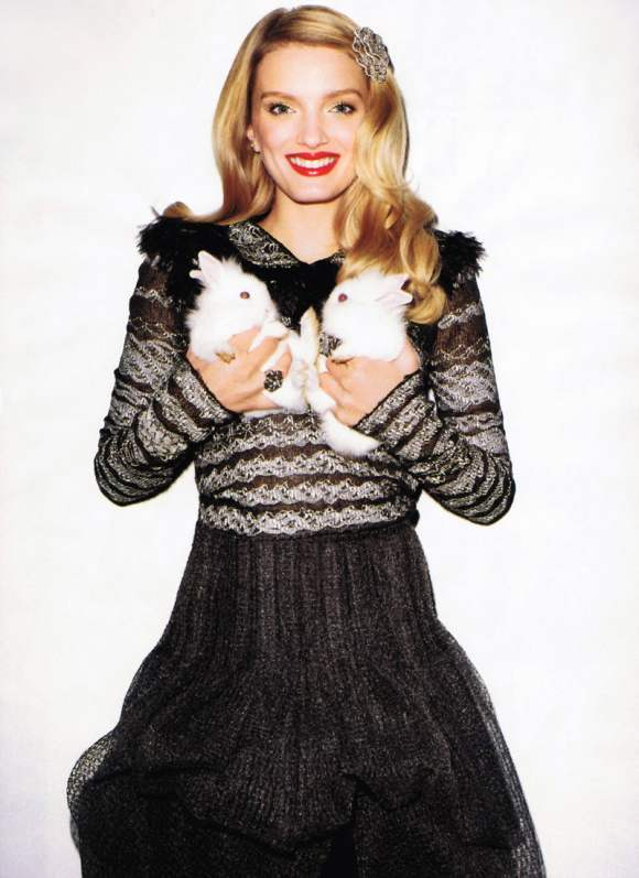 Lily Donaldson for Harpers Bazaar US January 2011 18