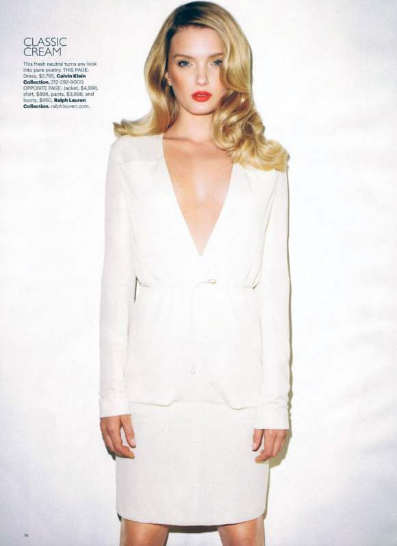 Lily Donaldson for Harpers Bazaar US January 2011 9