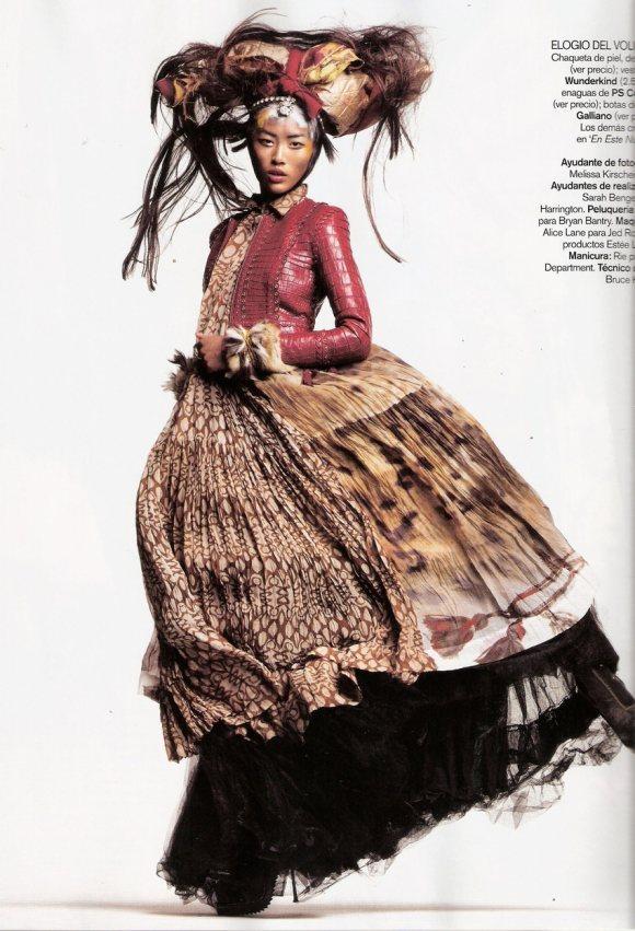 Liu Wen for Vogue Espana January 2011 10