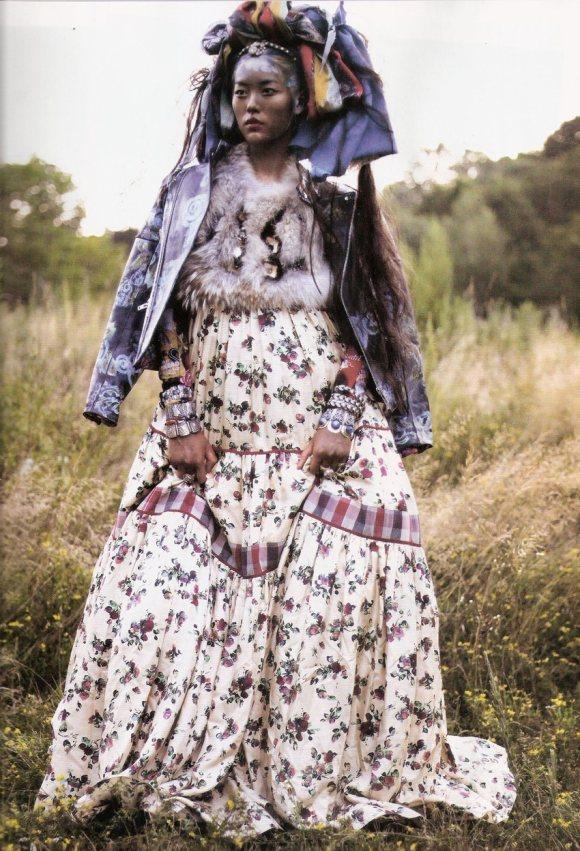 Liu Wen for Vogue Espana January 2011 11