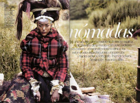 Liu Wen for Vogue Espana January 2011 2