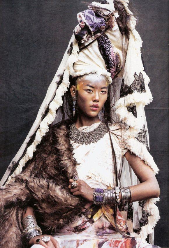 Liu Wen for Vogue Espana January 2011 3