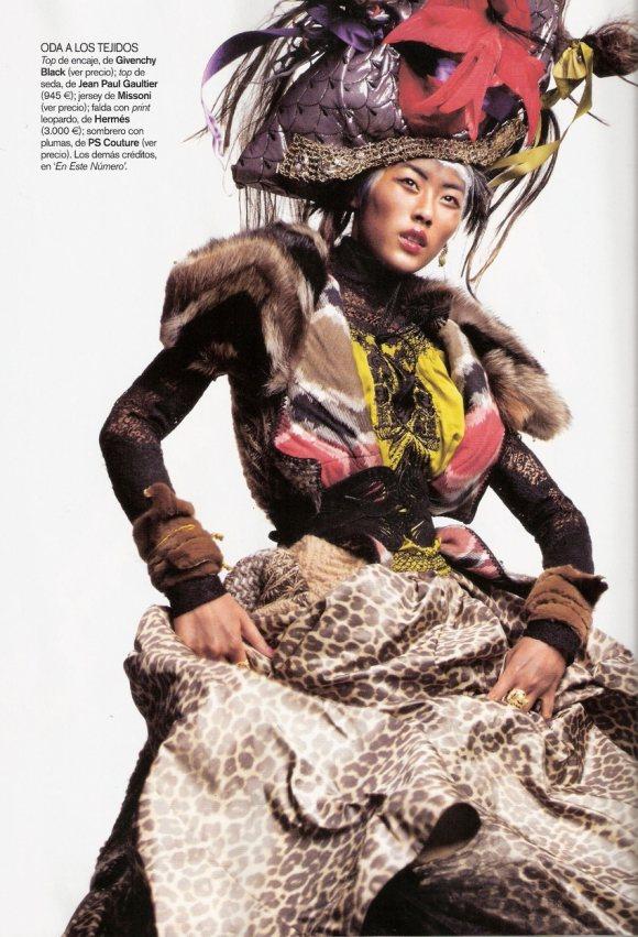 Liu Wen for Vogue Espana January 2011 5
