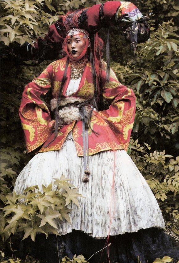 Liu Wen for Vogue Espana January 2011 6