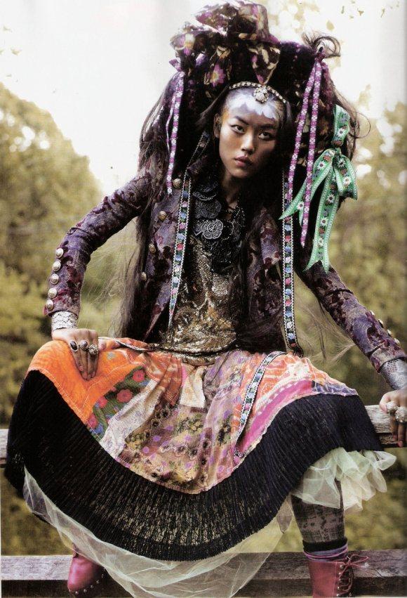 Liu Wen for Vogue Espana January 2011 7