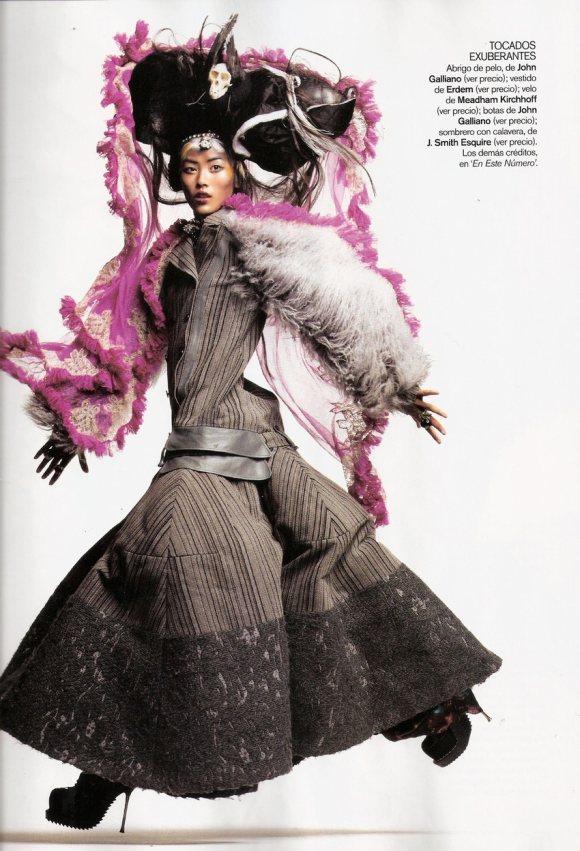 Liu Wen for Vogue Espana January 2011 8