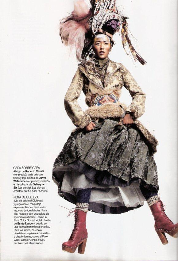 Liu Wen for Vogue Espana January 2011 9