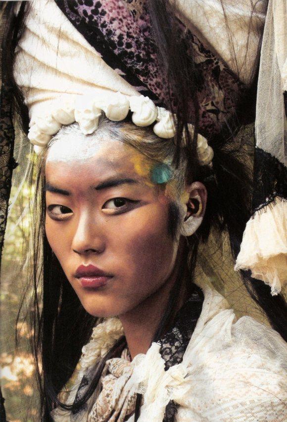 Liu Wen for Vogue Espana January 2011