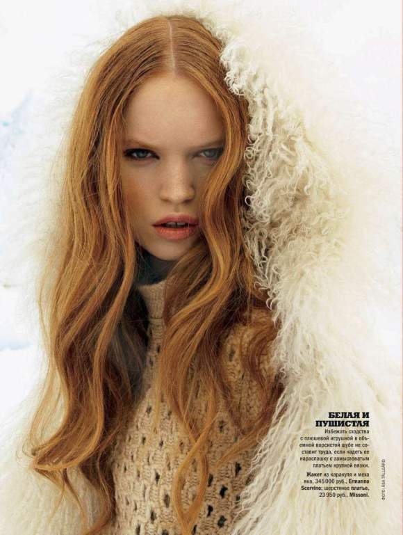 Luisa Bianchin for Glamour Russia December 2010 3