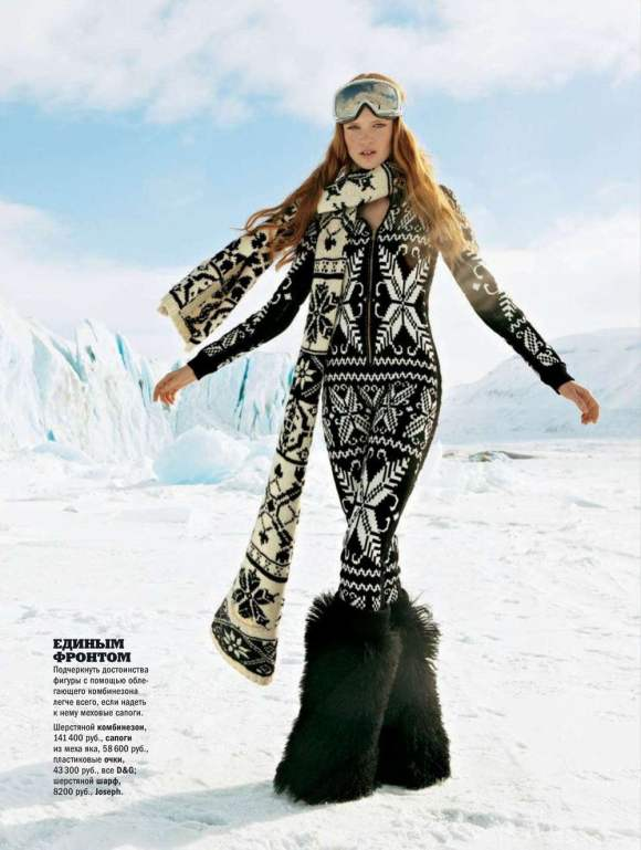 Luisa Bianchin for Glamour Russia December 2010 4