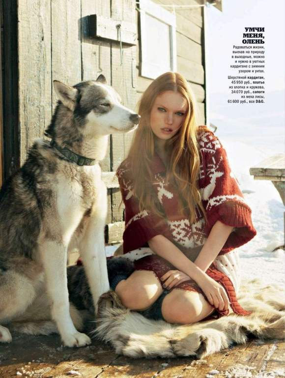 Luisa Bianchin for Glamour Russia December 2010 7