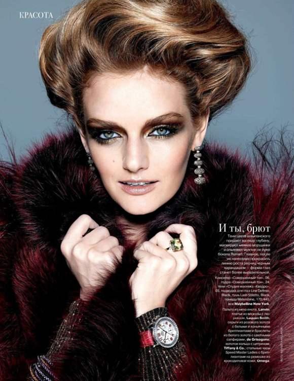 Lydia Hearst for Tatler Russia December 2010 3