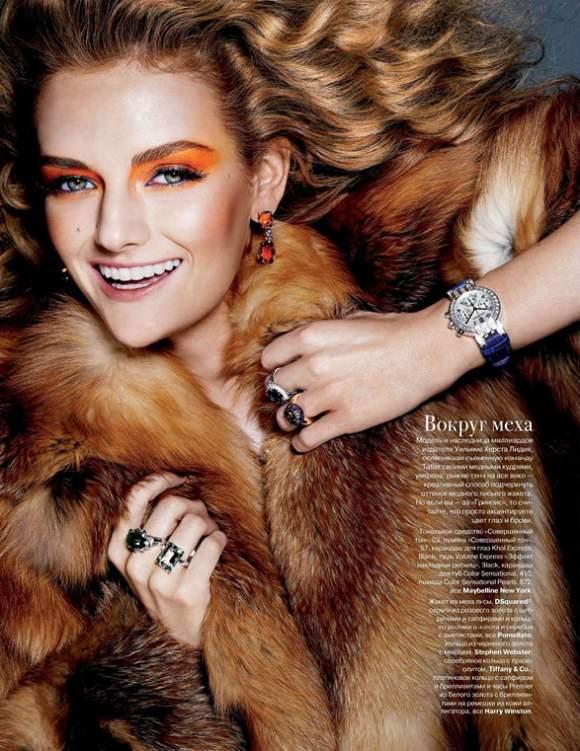 Lydia Hearst for Tatler Russia December 2010 5