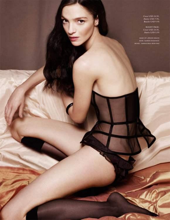 Mariacarla Boscono H M Magazine Winter 2010 8 Jpg Fashion
