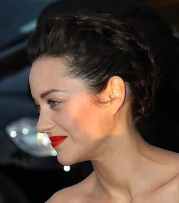 Marion Cotillard updo hairstyle with braid