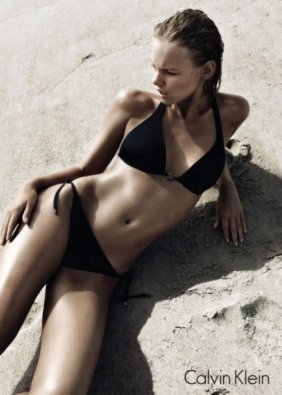 Marloes Horst Calvin Klein Swimwear 2011 Campaign 2