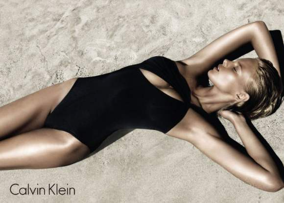Marloes Horst Calvin Klein Swimwear 2011 Campaign 4
