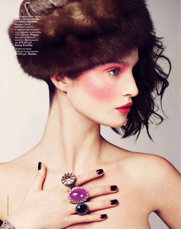 Marta Berzkalna for Vogue Russia January 2011 2