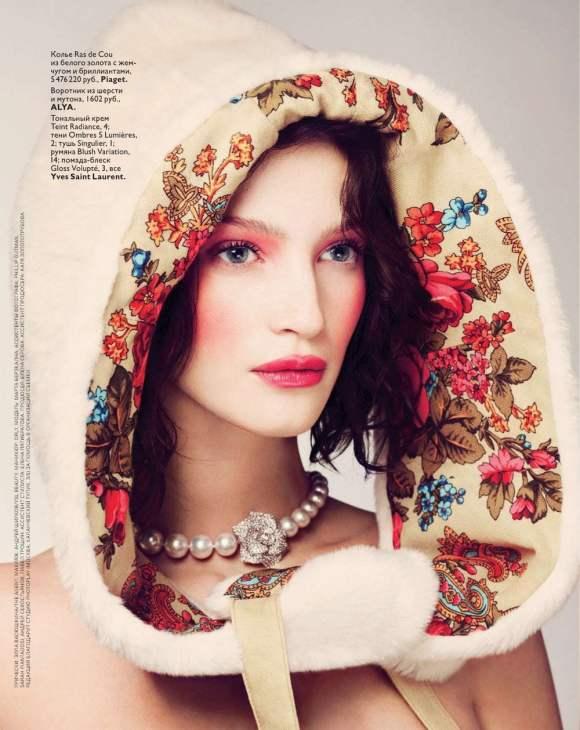 Marta Berzkalna for Vogue Russia January 2011 3