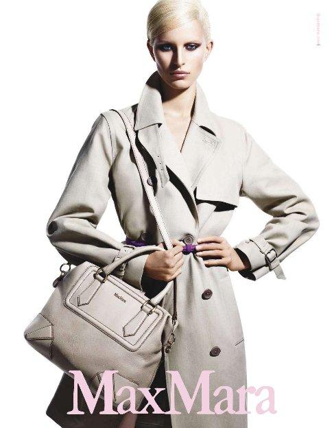 Max Mara S S 2011 Ad Campaign Preview