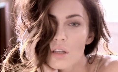Megan Fox in Armani campaign