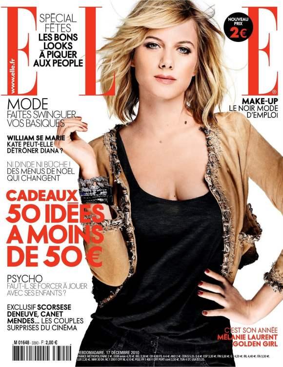 Melanie Laurent for Elle France December 2010