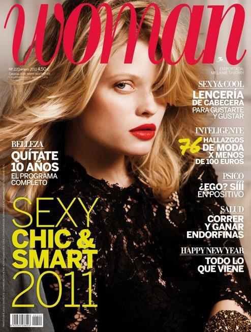 Melanie Thierry for Woman Magazine Spain January 2011