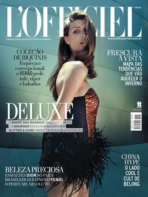 Michelle Alves for LOfficiel Brazil January 2011