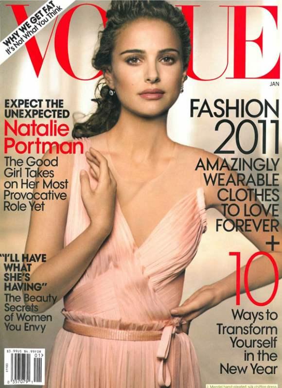 Natalie Portman for Vogue US January 2011