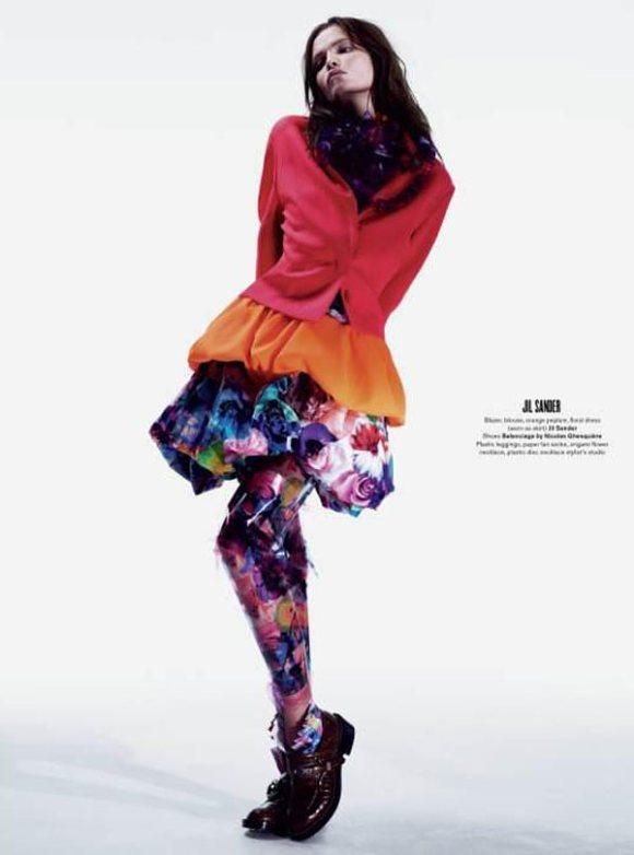 Natasha Poly for V Magazine 69 1