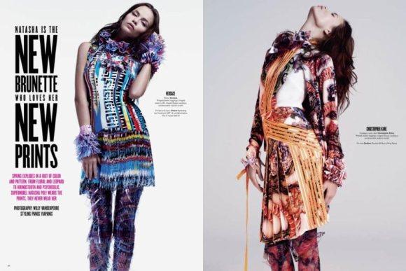 Natasha Poly for V Magazine 69 2