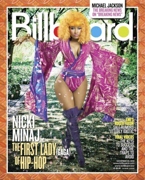Nicki Minaj Billboard Magazine November 2010