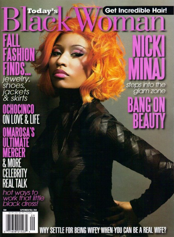 Nicki Minaj Todays Black Woman Magazine September 2010