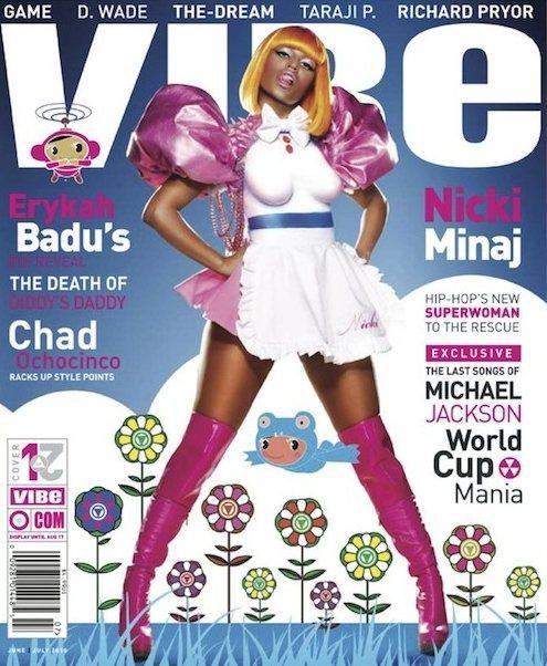 Nicki Minaj VIBE June 2010