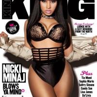 Nicki Minaj for King Magazine March-April 2011