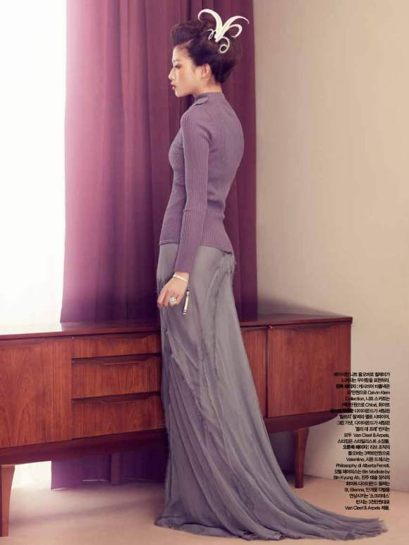 Park Ji Hye Choi A Ra for Harpers Bazaar Korea December 2010 8