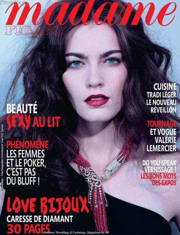 Patrycja Gardygajlo Madame Figaro France December 2010 1