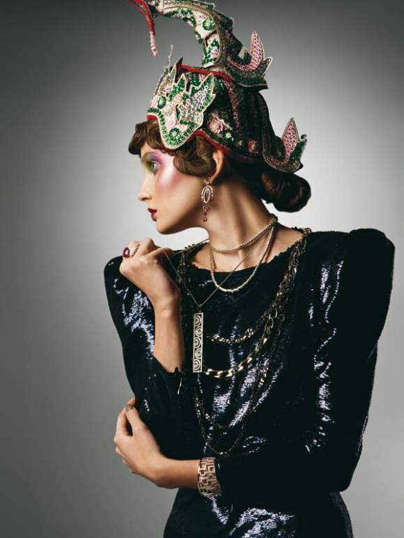 Petra Hegedus for Vogue Hellas December 2010
