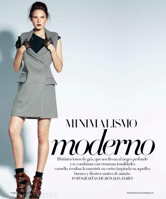 Polina Barbasova for Harpers Bazaar Mexico December 2010 2