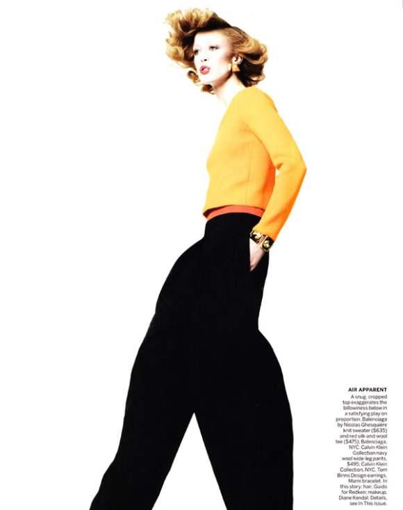 Raquel Zimmermann for Vogue US January 2011 3